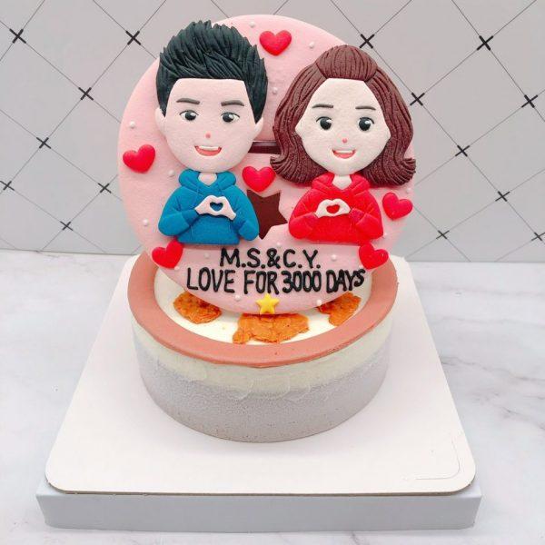 台北Q版人像生日蛋糕推薦,客製化造型蛋糕推薦