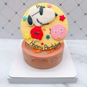 史努比生日蛋糕推薦,卡通造型蛋糕宅配