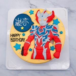 超人力霸王造型蛋糕推薦,奧特曼生日蛋糕作品分享