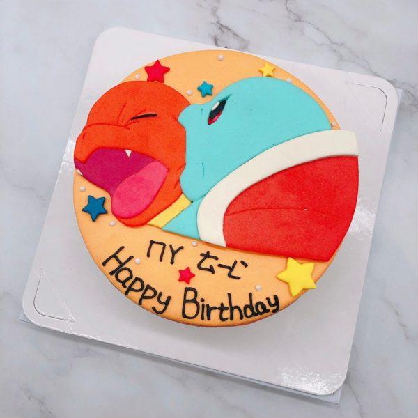寶可夢傑尼龜生日蛋糕推薦,小火龍造型蛋糕宅配