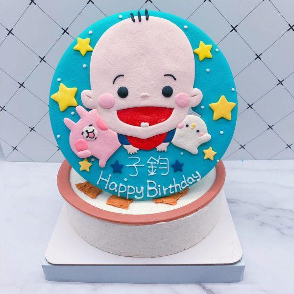 Q版寶寶生日蛋糕推薦,台北客製化造型蛋糕宅配