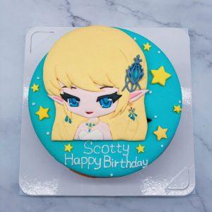 台北客製化造型蛋糕宅配 ,Q版人像生日蛋糕推薦