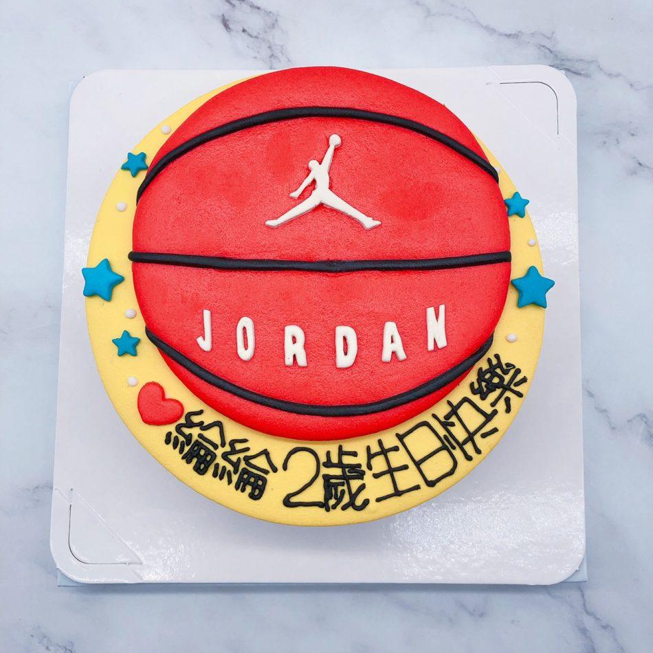 台北籃球造型蛋糕推薦,JORDAN籃球生日蛋糕宅配
