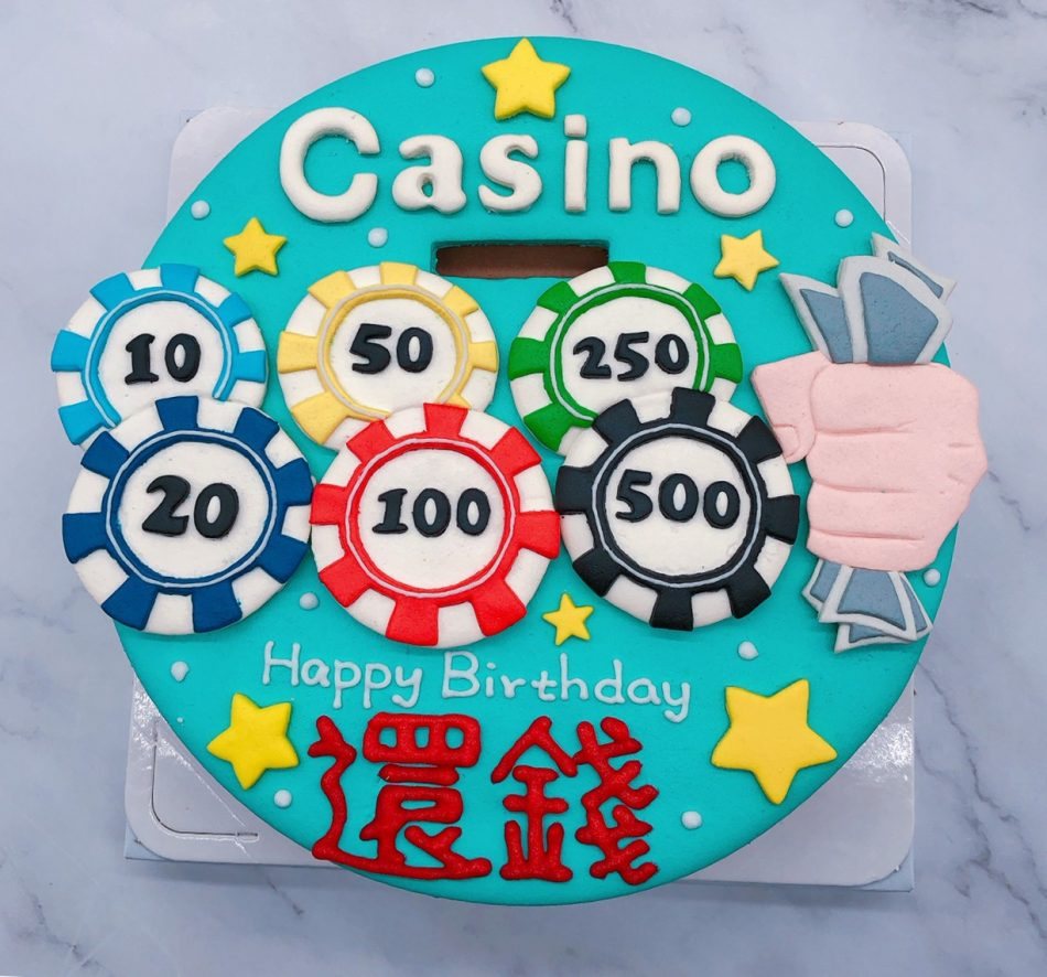 CASINO造型蛋糕推薦,台北客製化生日蛋糕宅配