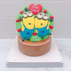台北小小兵生日蛋糕推薦,Minions造型蛋糕宅配