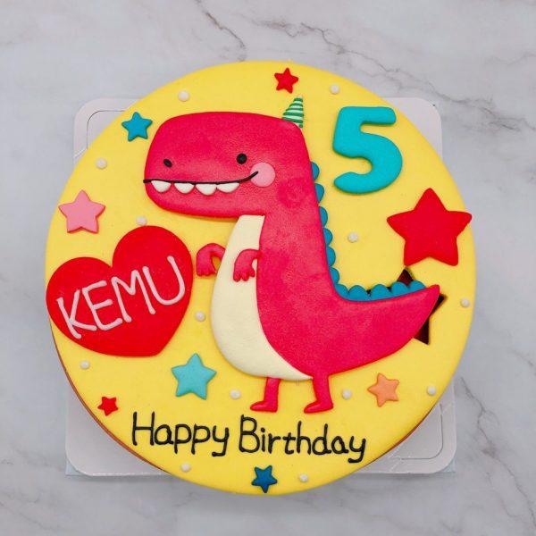 恐龍客製化造型蛋糕推薦,超可愛恐龍生日蛋糕宅配