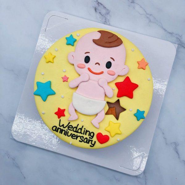 Q版寶寶生日蛋糕推薦,2021年客製化造型蛋糕宅配