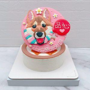 台北寵物造型蛋糕推薦,狗客製化造型蛋糕宅配