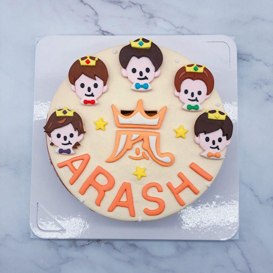 Q版嵐造型蛋糕推薦,客製化人物造型蛋糕宅配