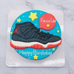Jordan球鞋客製化造型生日蛋糕,趕緊訂一顆既是蛋糕也是禮物的獨一無二專屬生日蛋糕吧!
