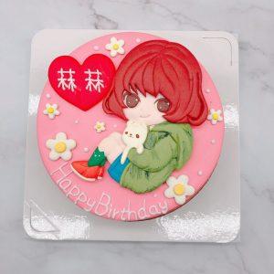 2021年Q版人像生日蛋糕推薦,客製化造型蛋糕宅配