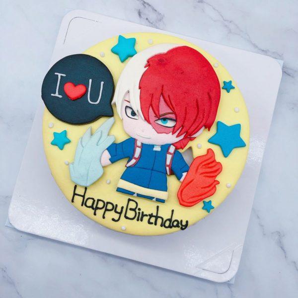 我的英雄學院生日蛋糕推薦,轟焦凍造型蛋糕宅配分享