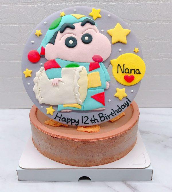 蠟筆小新生日蛋糕推薦,卡通造型蛋糕作品分享