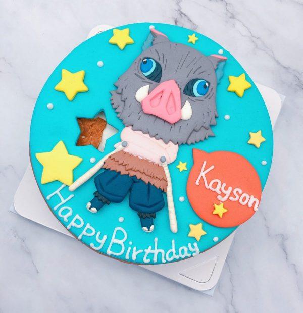 嘴平伊之助生日蛋糕推薦,鬼滅之刃造型蛋糕宅配分享