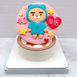 Ryan生日蛋糕手作推薦,萊恩造型蛋糕推薦分享