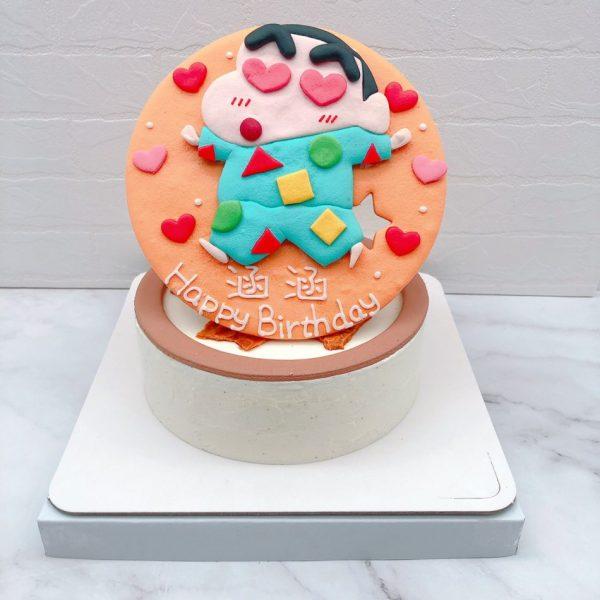 蠟筆小新造型蛋糕推薦,卡通生日蛋糕作品分享