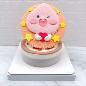 桃子造型蛋糕推薦,台北客製化生日蛋糕宅配