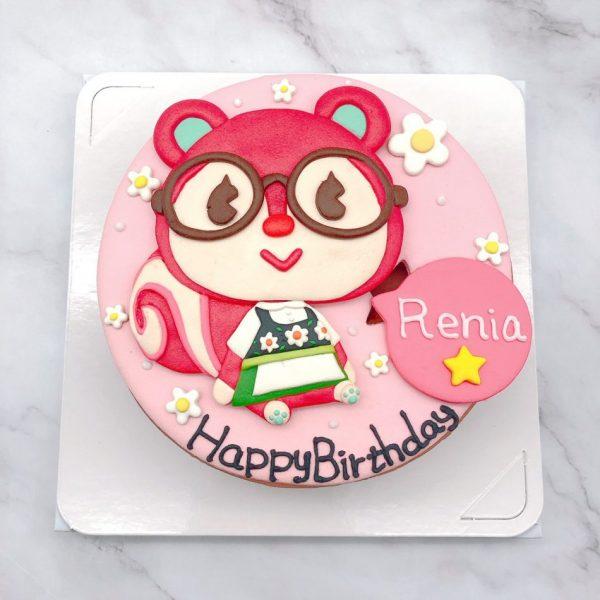 動物森友會造型蛋糕推薦,軟糖生日蛋糕宅配分享