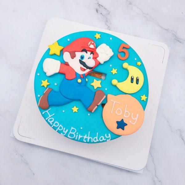 瑪莉歐生日蛋糕推薦,任天堂馬力歐造型蛋糕分享