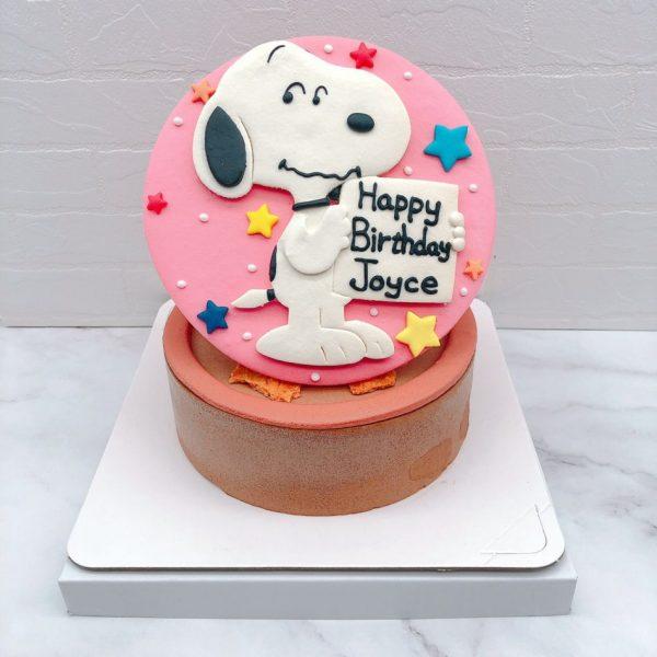 史努比生日蛋糕推薦,台北卡通造型蛋糕宅配