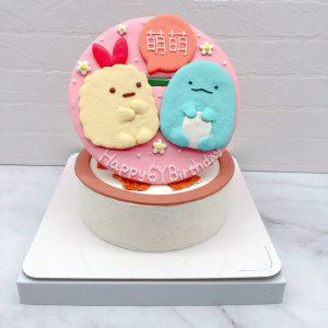 角落生物炸蝦生日蛋糕推薦,恐龍造型卡通蛋糕宅配