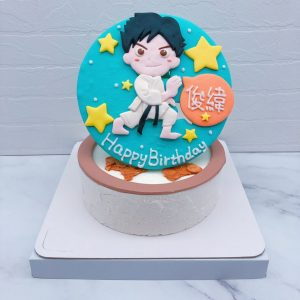 空手道造型蛋糕推薦,台北客製化生日蛋糕宅配