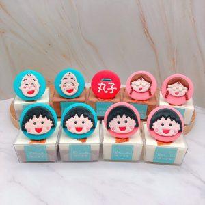 櫻桃小丸子杯子蛋糕推薦,小玉/友藏杯子蛋糕手作分享