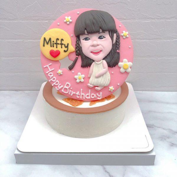 人像造型蛋糕推薦,台北客製化生日蛋糕宅配