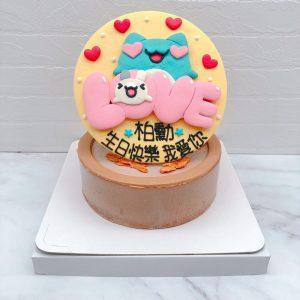 咖波手作造型蛋糕作品分享,客製化生日蛋糕作品推薦