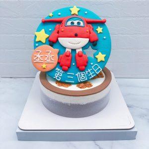 Super Wings生日蛋糕推薦,杰特造型蛋糕宅配分享