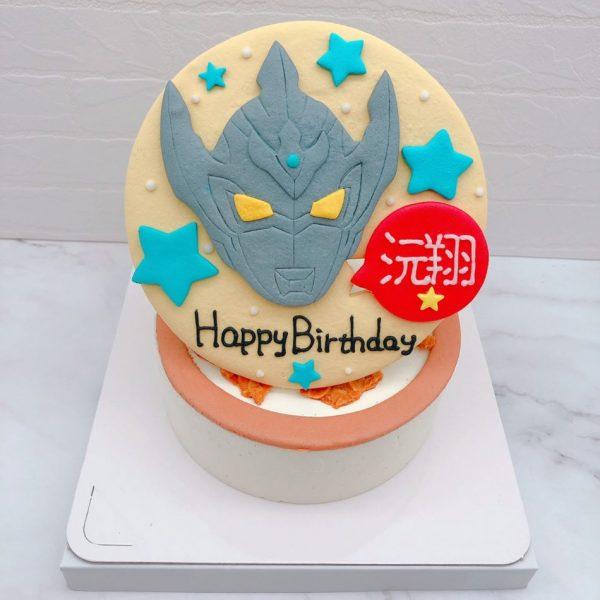 奧特曼造型蛋糕推薦,超人力霸王生日蛋糕作品分享