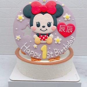 台北米妮生日蛋糕推薦,迪士尼造型蛋糕作品分享