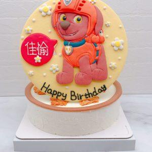 汪汪隊造型蛋糕推薦,路馬生日蛋糕宅配分享