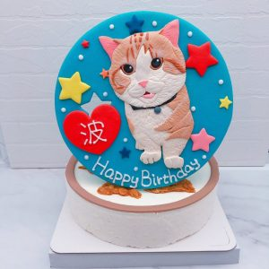 貓咪造型蛋糕推薦,台北寵物客製化蛋糕宅配