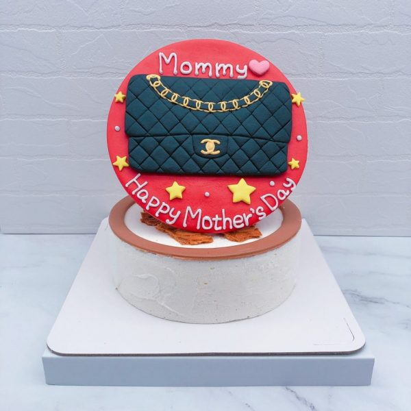 香奈兒包包造型蛋糕推薦,Chanel母親節蛋糕宅配