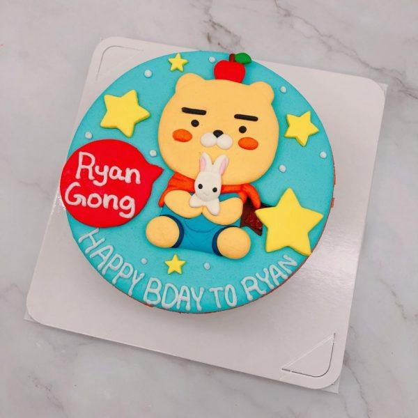 Ryan客製化造型蛋糕手作推薦,萊恩生日蛋糕推薦分享