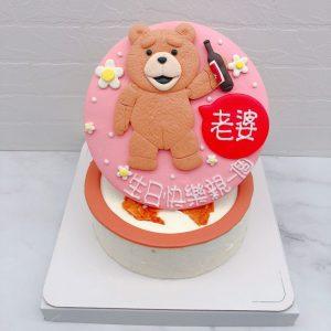 熊麻吉生日蛋糕推薦,客製化造型生日蛋糕宅配熊麻吉生日蛋糕推薦,客製化造型生日蛋糕宅配