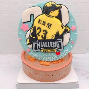 彭政閔生日蛋糕推薦,兄弟象造型蛋糕作品分享