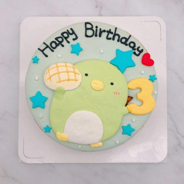 角落生物生日蛋糕推薦,企鵝造型卡通蛋糕宅配