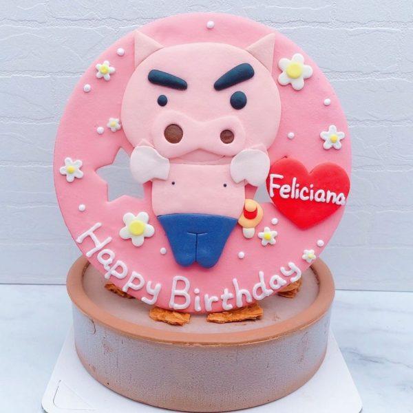 肥嘟嘟左衛門造型蛋糕推薦,蠟筆小新生日蛋糕作品分享