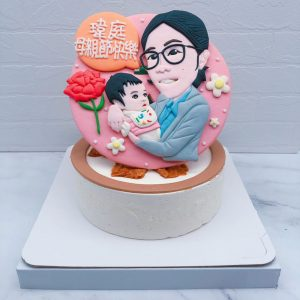 台北Q版人像照片蛋糕推薦,人像造型生日蛋糕宅配分享