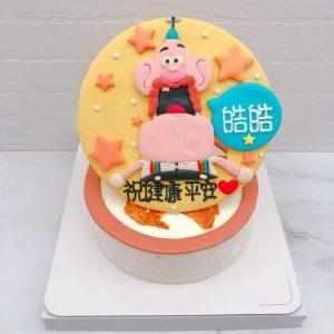 天才阿公造型蛋糕推薦,卡通生日蛋糕作品分享