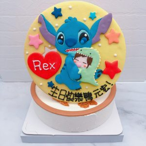 史迪奇造型蛋糕推薦,客製化卡通生日蛋糕宅配