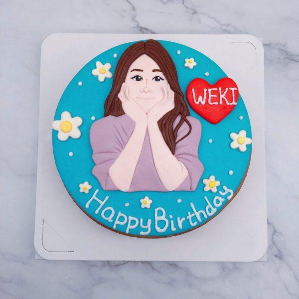 客製化Q版人像蛋糕推薦,人像照片造型生日蛋糕宅配