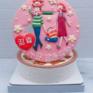 客製化生日蛋糕推薦,一家人造型蛋糕宅配分享