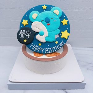 BT21生日蛋糕推薦,koya客製化造型蛋糕宅配