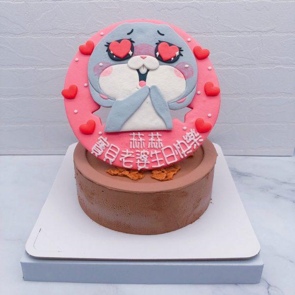 好想兔生日蛋糕作品分享,客製化造型蛋糕宅配推薦