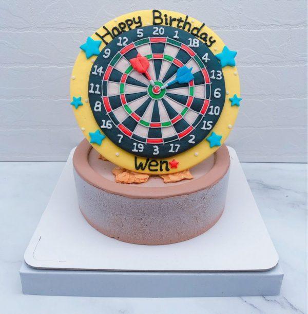 飛鏢造型蛋糕推薦,客製化生日蛋糕宅配分享