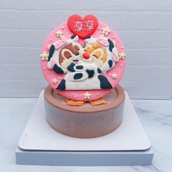 奇奇蒂蒂生日蛋糕推薦,卡通造型蛋糕宅配分享