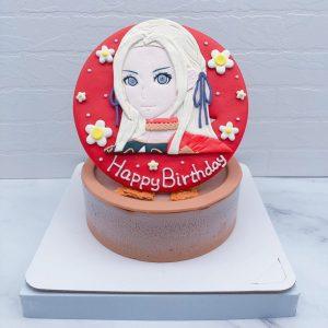 《聖火降魔錄:風花雪月》造型蛋糕推薦,艾黛爾賈特生日蛋糕宅配